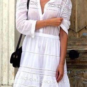 Isabel Marant Etoile White Greta Dress
